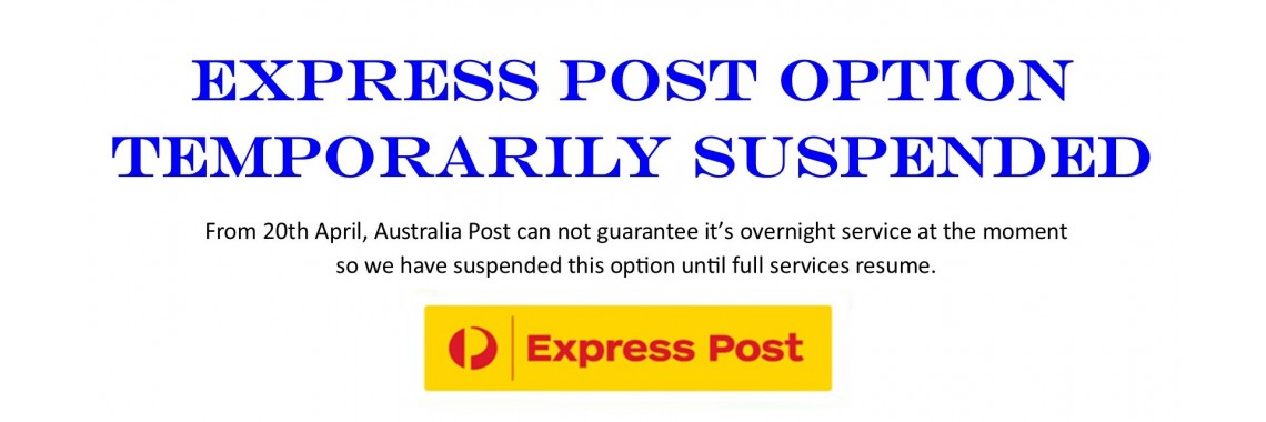 Express Post Suspended
