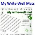 My Write-Well Mats