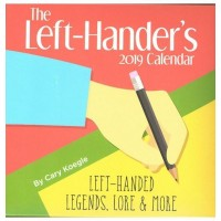 2019 Left-Hander's Block Desk Calendar