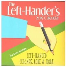 2019 Left-Hander's Block Desk Calendar
