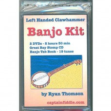Left Handed Clawhammer Banjo Kit by Ryan Thomson