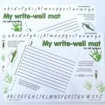 My Write-Well Mat, QLD & SA & TAS