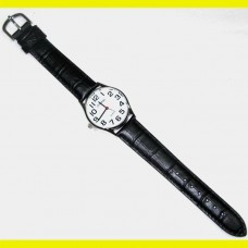 Left-Handed Watch, Gents - Silver