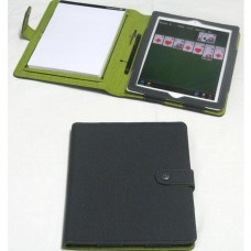 Booq Pad iPad Folio, Grey/Green