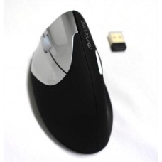 Minicute EZ Vertical Left-Handed PC Mouse, Wireless