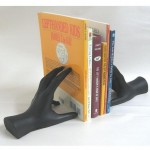Hands Book Ends Artist Black