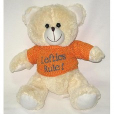 Lefties Rule Teddy Bear
