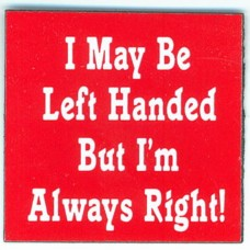 Magnet, I May Be Left-Handed - Small