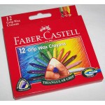 Faber-Castell Grip Wax Crayons