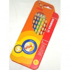 Stabilo EASYcolors Colouring Pencils, Pack 6