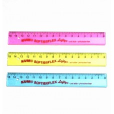 Softie Flex Lefty Ruler 15cm