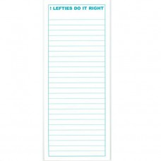 Lefties Do It Right Note Pad