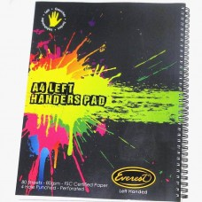 A4 Left-Handed Note Book