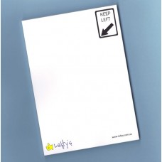 Keep Left Note Pad